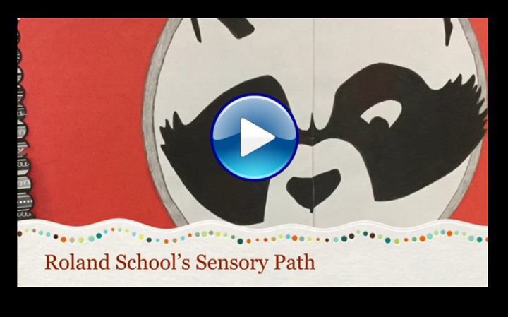 Roland School's 120 Foot Sensory Path