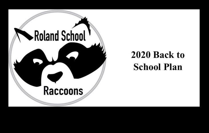 Roland School September 2020 Back To School Plan
