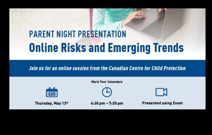 Parent Night Presentation – Online Risks and Emerging Trends